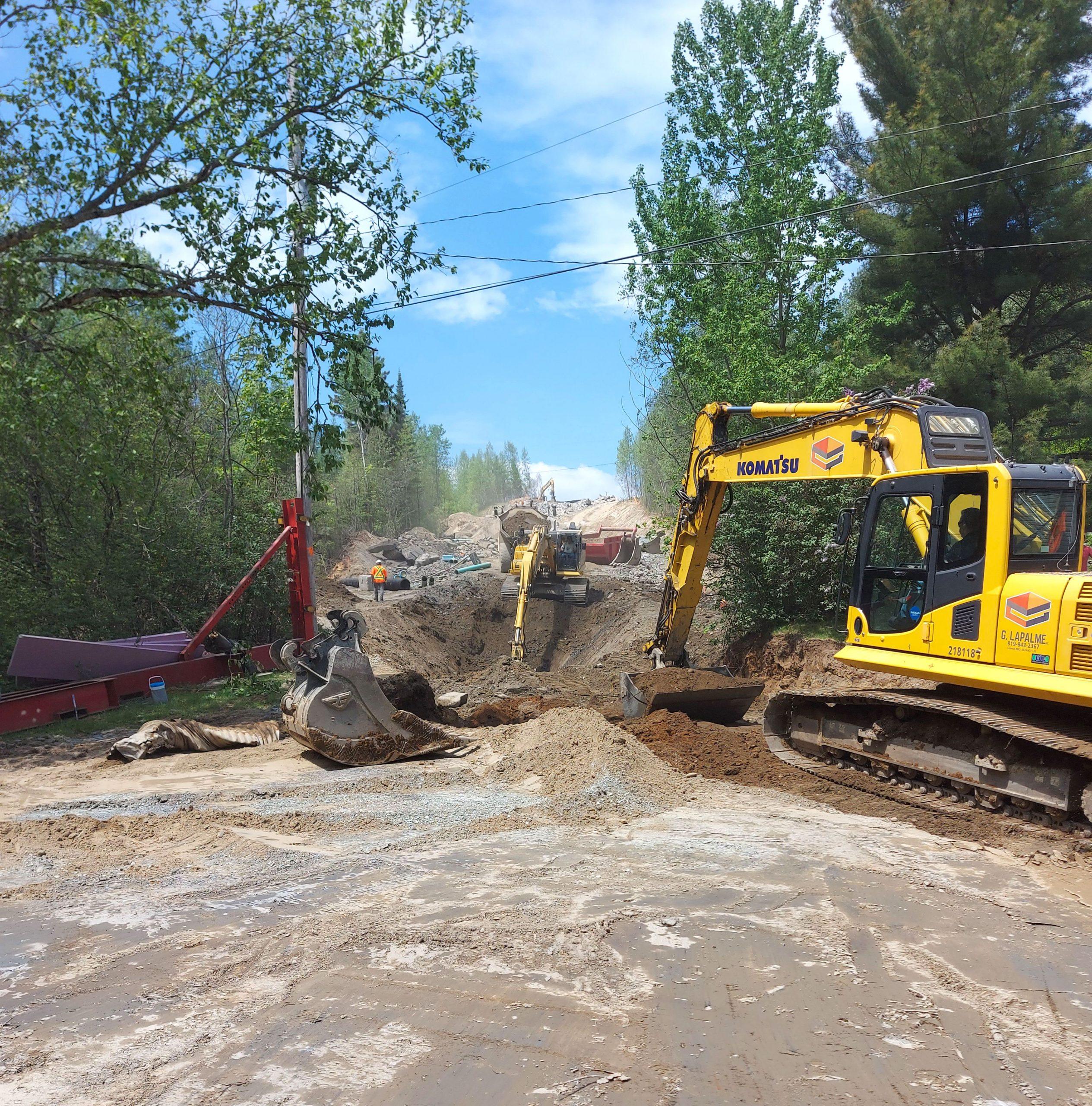 entreprise excavation commercial